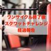 スクワットチャレンジ継続報告、ワンサイクル終了から17日目