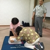 今年度の救急救命講習とランチ