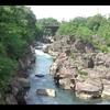 【東北&北海道(3)】岩手県にある国の名勝天然記念物にも指定されている厳美渓を観光