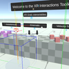 【Unity】XR Interaction Toolkit触る【VR】
