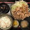 [北品川]三叶家の生姜焼き定食はボリューム満点