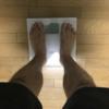 バルクアップ宣言から1週間。体重を測ってみたら・・・