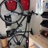 室内置き用に自転車(クロスバイク)スタンドを設置