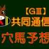 【GⅢ】共同通信杯 結果
