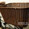 折りたたみ自転車に後ろカゴを取り付けてみた。OGK・RB-002(大型後ろ籐風バスケット)
