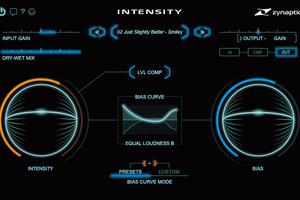 """ZYNAPTIQ Intensity 〜顔認識技術を応用し音の細部を際立てるプロセッサー【""""未来系""""プラグイン・エフェクト・レビュー】"""