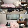 JKムスメの汚部屋を友人二人が片付けてくれた結果