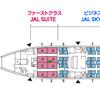 JALファーストクラスで行くニューヨークの旅- お空のフルコースの巻