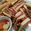 【お台場】ホテル グランパシフィック LE DAIBA クラブハウスサンドイッチ
