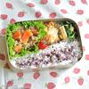 #192 豚肉と人参・葱の味噌炒め弁当