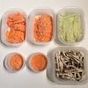野菜やお肉の「ついで切り」はやめられない。 包丁なしでパスタもすぐ出来ます。