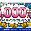 『セディナカードJiyu!da! 』が期間限定ポイントアップ!海外キャッシング人気NO.1のカードを発行するなら今だ!