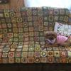 手編みのコットンクロシェ