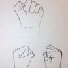 手を描く!2【練習】