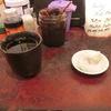 築地の「米花」で鰆西京焼き、ぜんまい・れんこん・にんじん煮物。