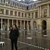 パレロワイヤルで芸術.            Palais Royal