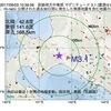 2017年09月03日 10時59分 胆振地方中東部でM3.1の地震