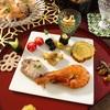 2021初ブログ〜年末年始のsaki家の食卓〜栗餡と、残った栗きんとんで栗カスタード