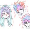 【Blender2.92】カーブで髪の毛を作る前半