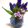 オリエステルの折り紙は花瓶も折れます