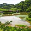 中越地震の河道閉塞湖(仮称)(新潟県長岡)