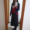 学生時代に回帰する大人のプリーツスカート