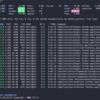 Pythonメモ-62 (glances試してみたら凄く良かった) (psutil, glances, top/htop alternative)