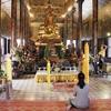久しぶりに( Wat Phnom )ワットプノンに行って来ました。