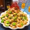 【レシピ】鶏むね肉とアボカドの中華風ピリ辛冷奴
