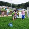 和泉川掃除と川遊びをしました。