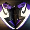 "【9月22日(土)発売】スニーカー抽選情報   ""NIKE AIR JORDAN 1 RETRO HIGH OG/COURT PURPLE"" 555088-501"