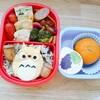 黄色いトトロキャラ弁~冷凍食品を使わず可愛い幼稚園弁当~