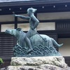 龍と比羅夫と 穂高神社。