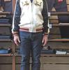 桃太郎ジーンズの銅丹G014-MBを穿いて三か月☆『剛志のジーンズ色落ち物語2017』☆