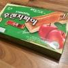 アップルパイと韓国のアップルパイのお菓子