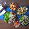 【セリア】韓国料理テーブルコーディネート