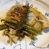鶏肉と洋梨とインゲン豆の粒マスタードクリーム煮〜北ドイツ夏の終わりの名物料理「Birnen,Bohnen,Speck」