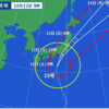 台風19号(気象兵器)の「次」を考えなさい。台風19号の最新情報と61年前の狩野川台風との比較