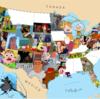 海外の反応「アニメの舞台を日本地図に当てはめてみた!」
