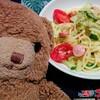今日のごはん:スタミナ満点になる夏野菜パスタ