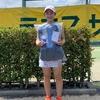 東京ジュニアテニストーナメント準優勝!