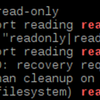 Raspberry Piで問題発生?