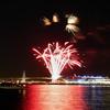 横浜港の冬の花火、大さん橋側から打ち上げる日も!12/19まで毎週土曜日ほか特定日20:00から5分間