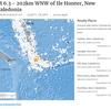 9月11日04時31分頃にニューカレドニアを震源とするM6.3の地震が発生!最近リング・オブ・ファイア上では大地震が発生していて日本も他人事ではない!!