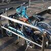 カングーに自転車4台を積む