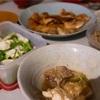 鶏肉味噌漬けと納豆汁