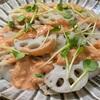今日から4月&鯛の塩焼き、蓮根のエビマヨ風