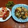 幸運な病のレシピ( 2282 )昼:豚足煮込み(2時間)、煮しめ