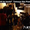 """We will be back!!"" Tetsuya Ota Piano Trio, 2011"
