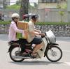 バイクのときの荷物はどうしてる?